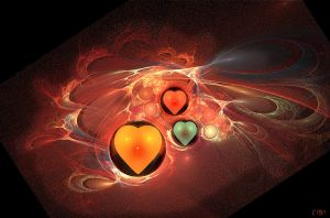 fractal heart by Tattoomaus78