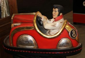 Elvis Bumper Car by boogster11