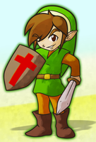 TLoZ - Link -GN3- by CatchShiro