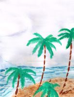 Palm Trees by SoulHound568