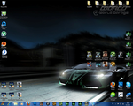 NFS World Windows 7 Theme by Marijo-4ever