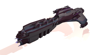 U.N.E.F. Assault Destroyer by failurecrusade