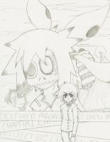 Project: Remake Chapter 1 Cover (Sketch) by White-Dream-Drop