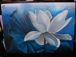 Lily in the Blue by MalakElMasry