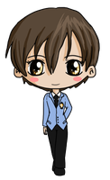 Haruhi Chibi by IcyPanther1