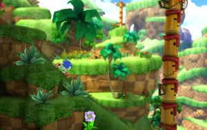 Sonic Generations Green Hill by RedStripedShoes
