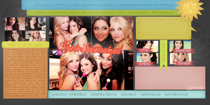 Pretty Little Liars Site by Camellote