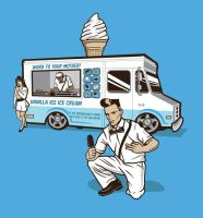 Vanilla Ice Cream Man by bennyd302