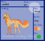Leafkit~ Hidden Valley warriors by Ivypoolofficial