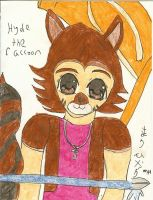 Hyde the Racoon by marihikari
