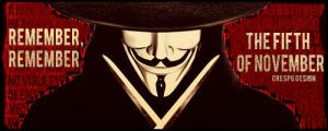 V for Vendetta Banner by Cre5po