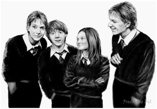 The Weasley Gang. Finished by FinAngel