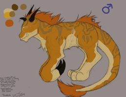 Thadius the Knucklebeast -updated- by lonesome-wolf-child
