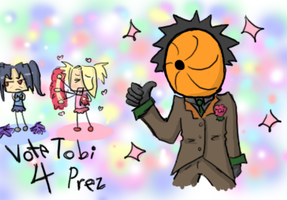 Tobi 4 Prez by heartlesstheif