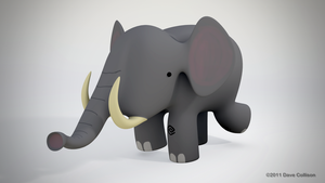 Simple Elephant - Parp by TheBigDaveC
