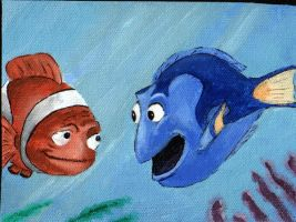 Finding Nemo Painting by ThePat