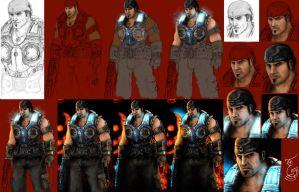 Gears of War THE END steps by thegameworld