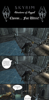 Adventures of Aryyak - Cheese... For Ulfric! by Castiel-the-Angel