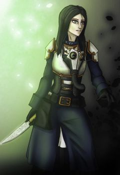 Alice in Madness/Death Korps of Krieg Crossover by Bog-Roll