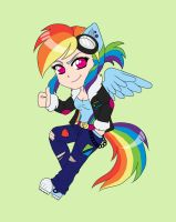 Chibi Rainbow Dash by ApocalypsePuppy