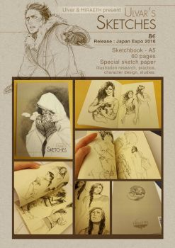 Japan Expo Release : Ulvar's Sketches by Amaltheren