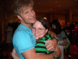 Me and Vic Mignogna by Ce-CeRiddle