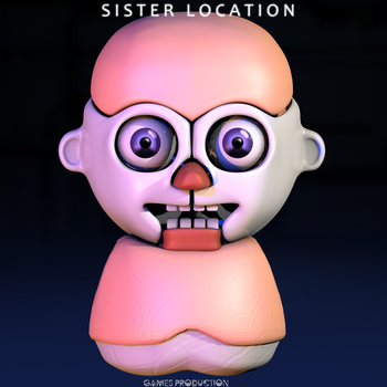 FNAF SL - Bidybab  WIP by GamesProduction
