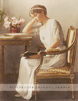 Grand Duchess reading by Livadialilacs