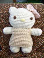 Crochet: Hello Kitty Amigurumi by jinnybear