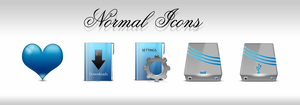 Normal Icons by Robsonbillponte666