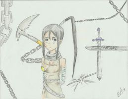 Tsubaki and Chains by Ladywiththeface