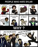 Why do people hate Sylar by tamaho