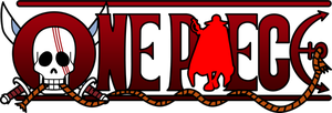 One Piece Logo (Shanks) by mcmgcls