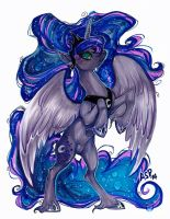Luna Appears by Aspendragon