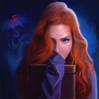 Shallan And The Chasmfiend by emmgoyer7