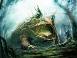 mob dire toad by PabloQ