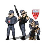 French Police Nationale CRS by PeterTheG