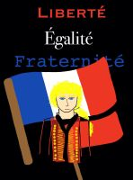 Enjolras - Liberty, Equality, Fraternity by DragonChantant