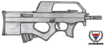 Fictional Firearm: HC-G90 PDW by CzechBiohazard