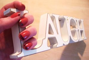 Laughing Nails.... by Sydney0007