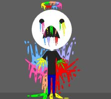 Blood slader of rainbowness by Spazzygamergirl