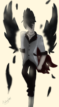 Misfortune - Qrow Wallpaper by Asunissi