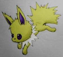 Jolteon - Yellow Thunder by xXFF7xYaoixX
