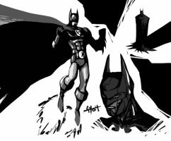 Iron Bat sketch by TetraGyom
