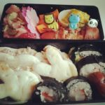Homemade Sushi Lunch by amidahime