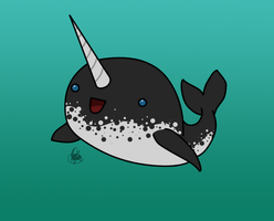 Narwhal by Meeps