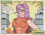 CLOBBERELLA by paintmarvels
