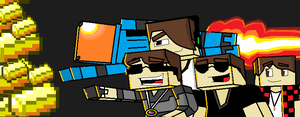 SKYDOESMINECRAFT AND SOME FRIENDS by ThePixelCreator
