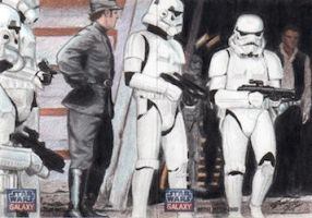 Star Wars G7 - Stormtroopers (2pc) Sketch Art Card by DenaeFrazierStudios