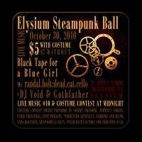 Elysium Steampunk Ball Post It by turnerstokens